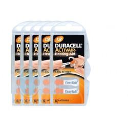 Piles auditives Duracell 10 prix (étiquette jaune) - 1 plaquette